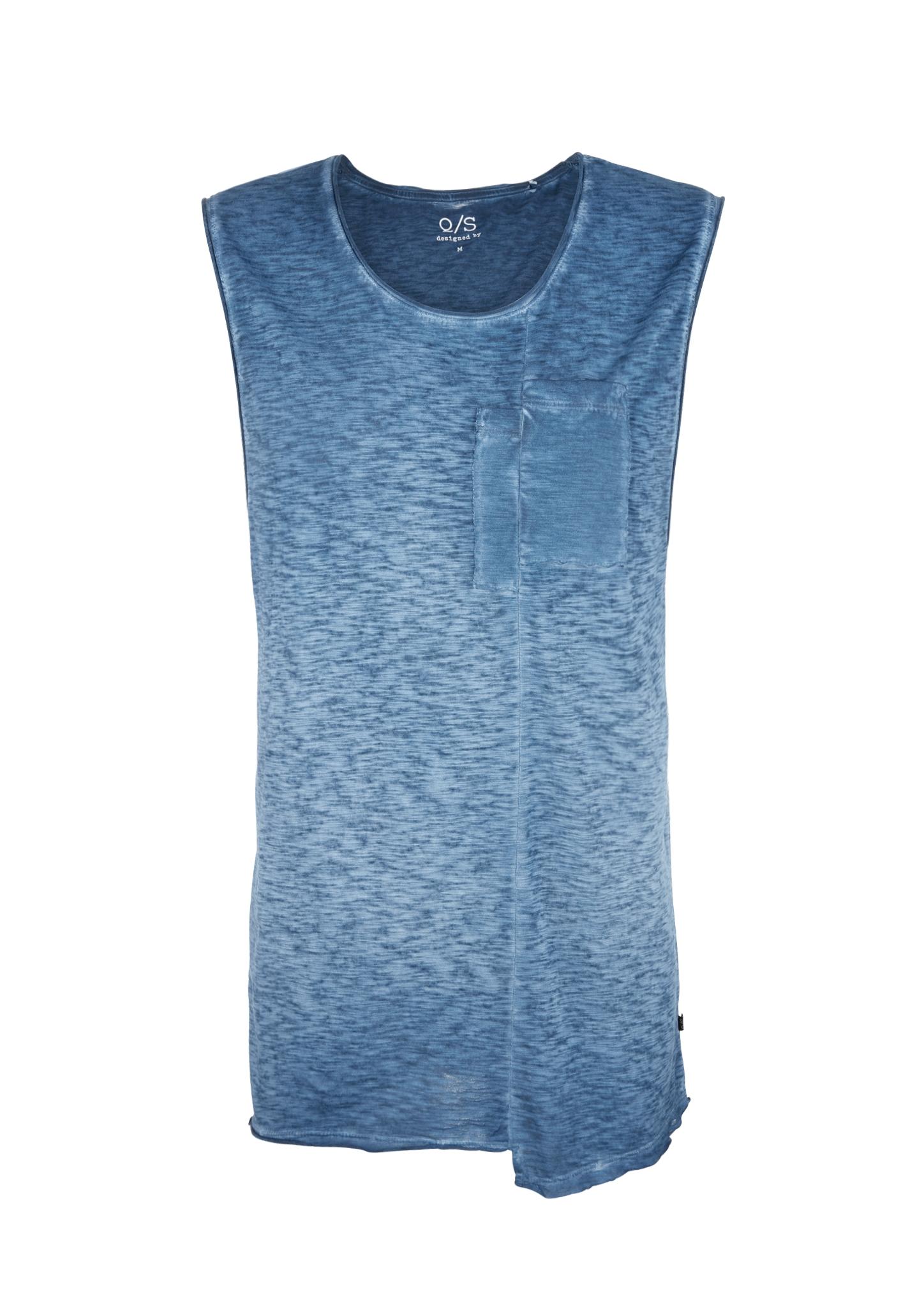 Tanktop | Sportbekleidung > Tanktops | Blau | 100% baumwolle | Q/S designed by