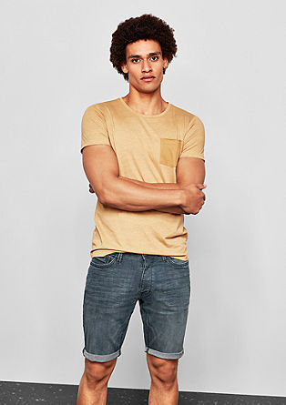 John Loose: denim Bermudas from s.Oliver