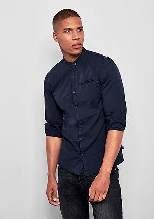Extra slim: overhemd met buttondownkraag