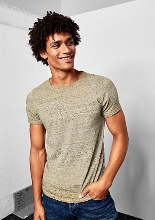 Melange T-shirt from s.Oliver