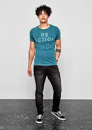 T-shirt with a print on the front from s.Oliver
