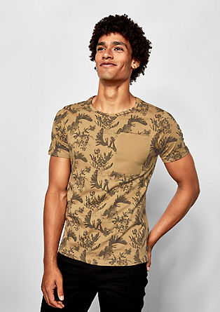 Tričko sceloplošným potiskem