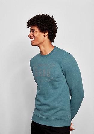Sweatshirt pulover z natisnjenim logotipom