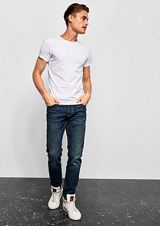 Rick slim: jeans in used look