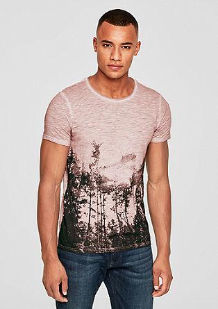 Print-Shirt in Pigment Dye