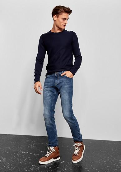 Gavin skinny: blue jeans