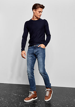 Gavin Skinny: modre jeans hlače