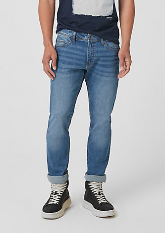 Rick Slim: Dunkle Jeans
