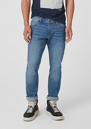 Rick Slim: dark jeans from s.Oliver