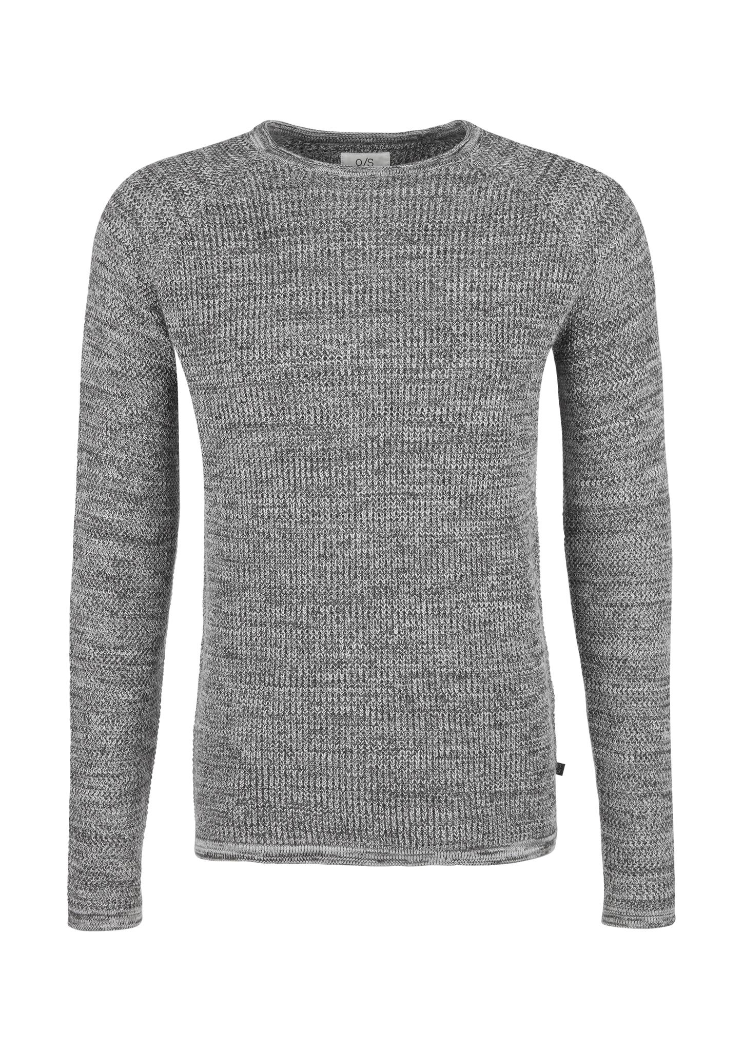 Pullover | Bekleidung > Pullover > Sonstige Pullover | Grau | 100% baumwolle | Q/S designed by