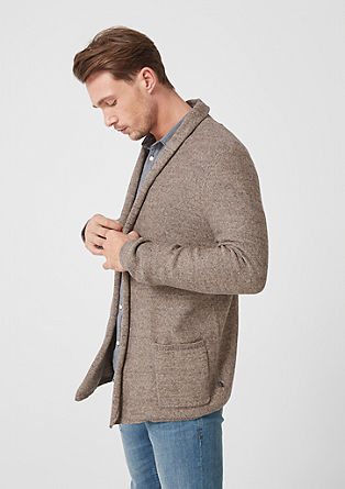 Cardigan with a shawl collar from s.Oliver