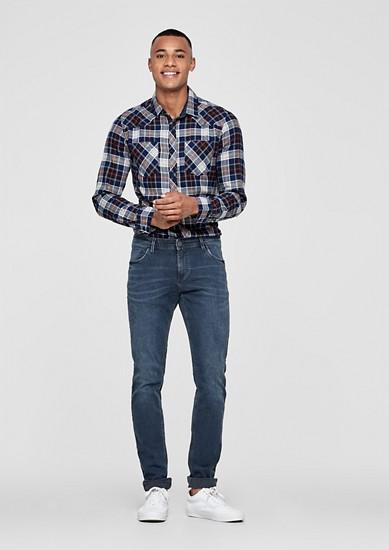 Gavin skinny: Coloured jeans