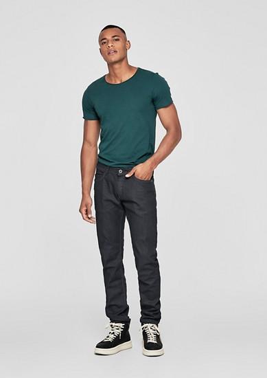 Rick Slim: dark jeans from s.Oliver