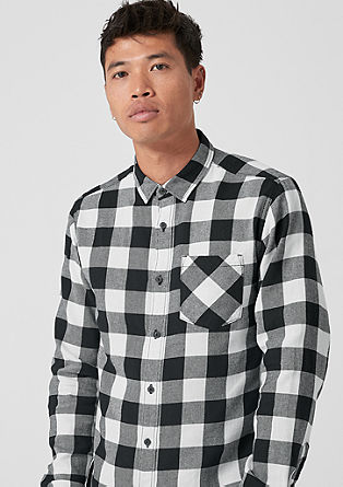 Extra Slim: Karirasta srajca iz bombaža