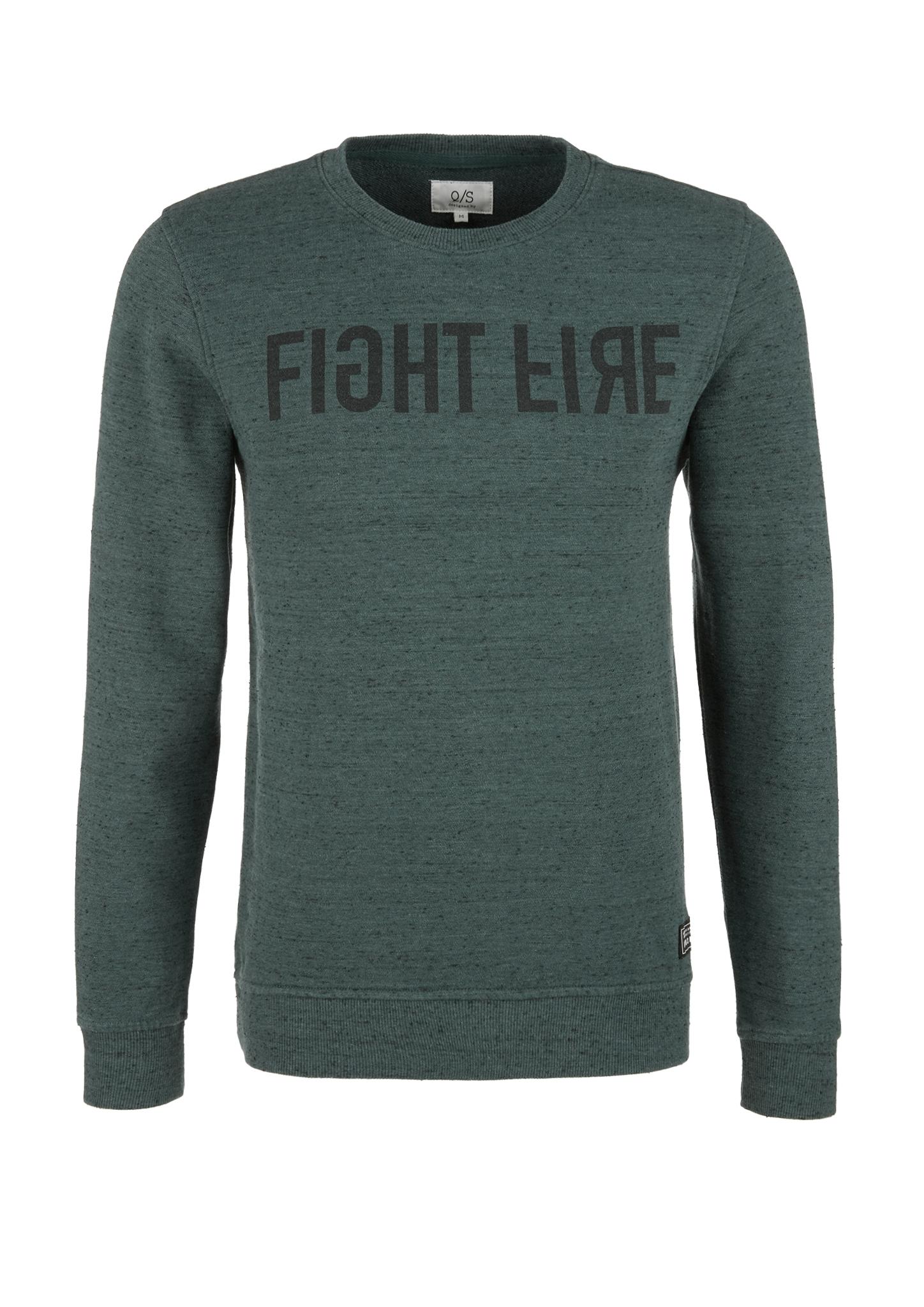 Sweatshirt | Bekleidung > Sweatshirts & -jacken > Sweatshirts | Grün | 60% baumwolle -  40% polyester | Q/S designed by