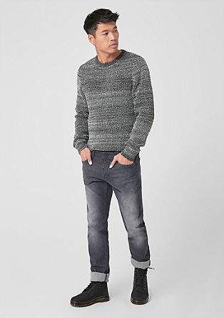 Rick Slim: Grey stretch denim from s.Oliver