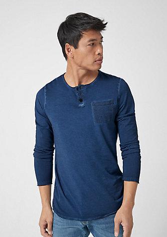 Garment Dye-Shirt aus Jersey