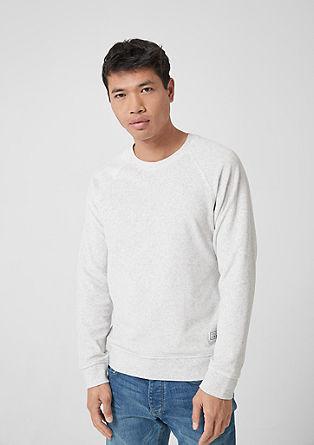 Sweat-shirt chiné en velours nicki de s.Oliver