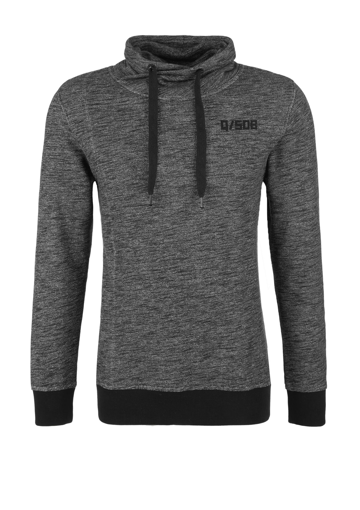 Turtleneck-Sweatshirt   Bekleidung > Sweatshirts & -jacken   Grau/schwarz   100% baumwolle   Q/S designed by
