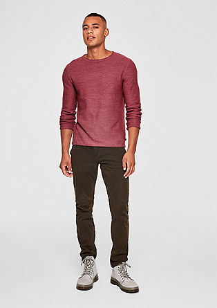 Lightweight textured knit jumper from s.Oliver