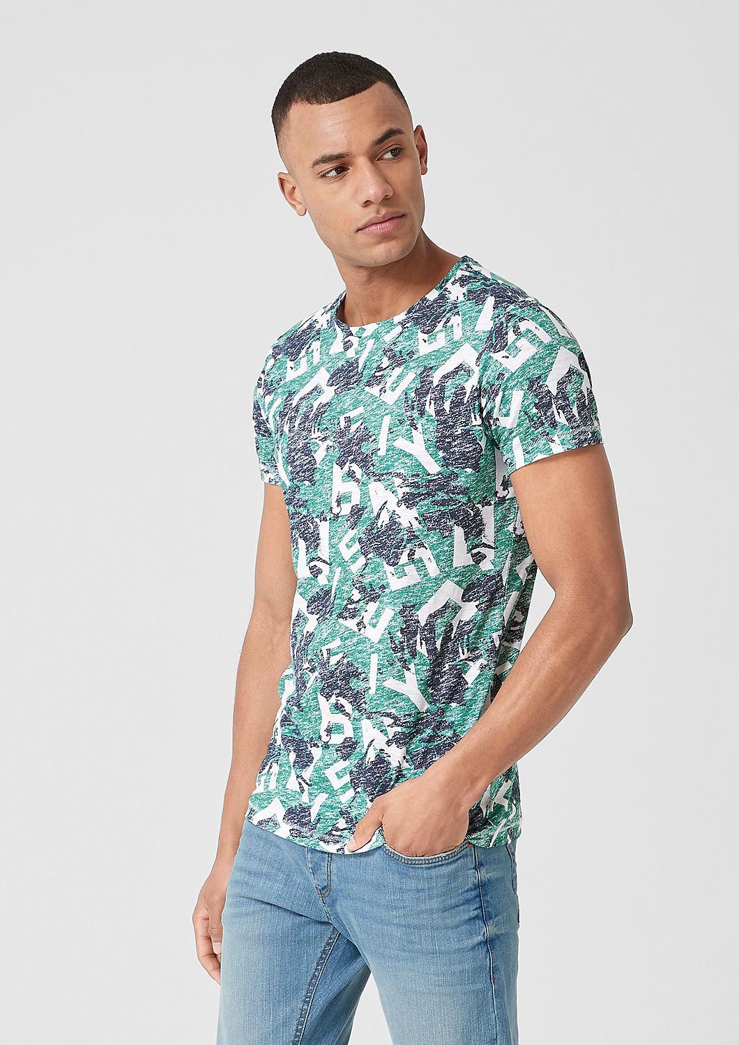 s.Oliver - T-Shirt mit Allover-Print - 4