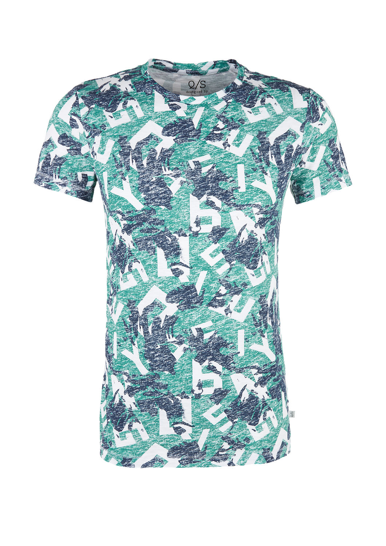 s.Oliver - T-Shirt mit Allover-Print - 3