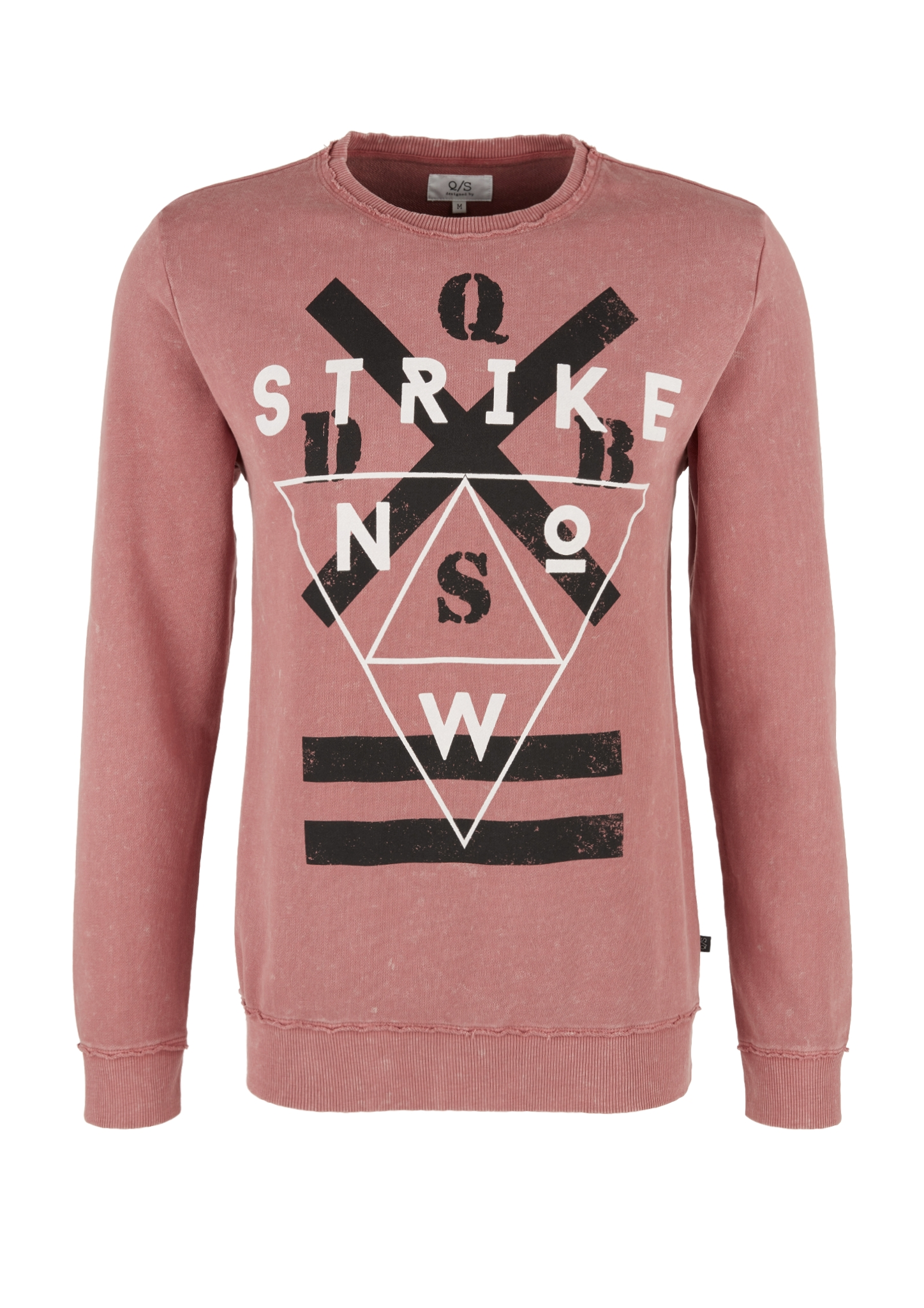 Sweatshirt | Bekleidung > Sweatshirts & -jacken > Sweatshirts | Rot | 100% baumwolle | Q/S designed by