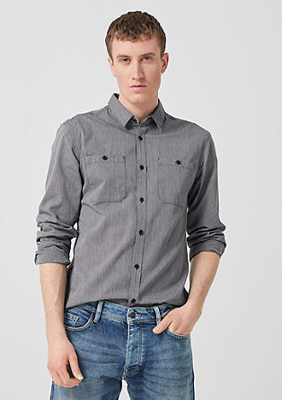Extra Slim: chemise à poches-poitrine de s.Oliver