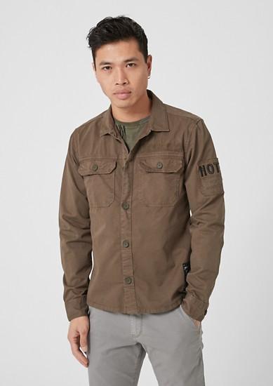 Hemd im Military-Style