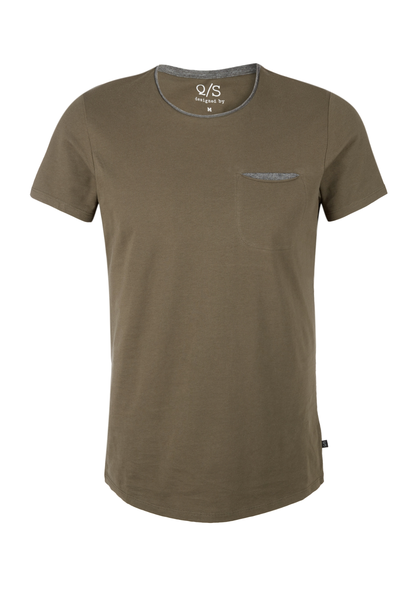 T-Shirt | Bekleidung > Shirts > Sonstige Shirts | Braun | 100% baumwolle | Q/S designed by