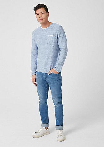 Pullover mit Layering-Effekt