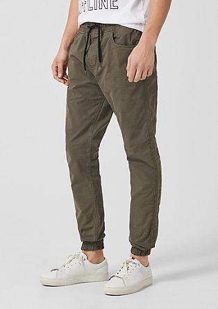Jogg Style: Sproščene bombažne hlače