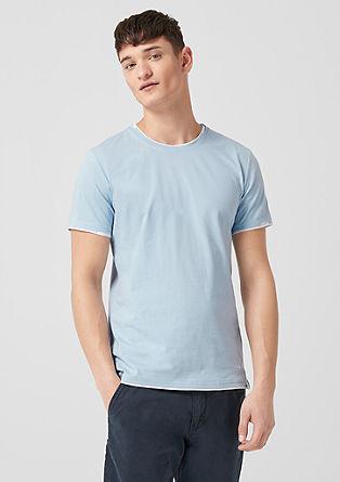Jersey shirt met een laagjeslook