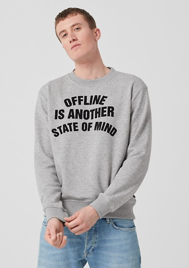 Vintage-style sweatshirt from s.Oliver