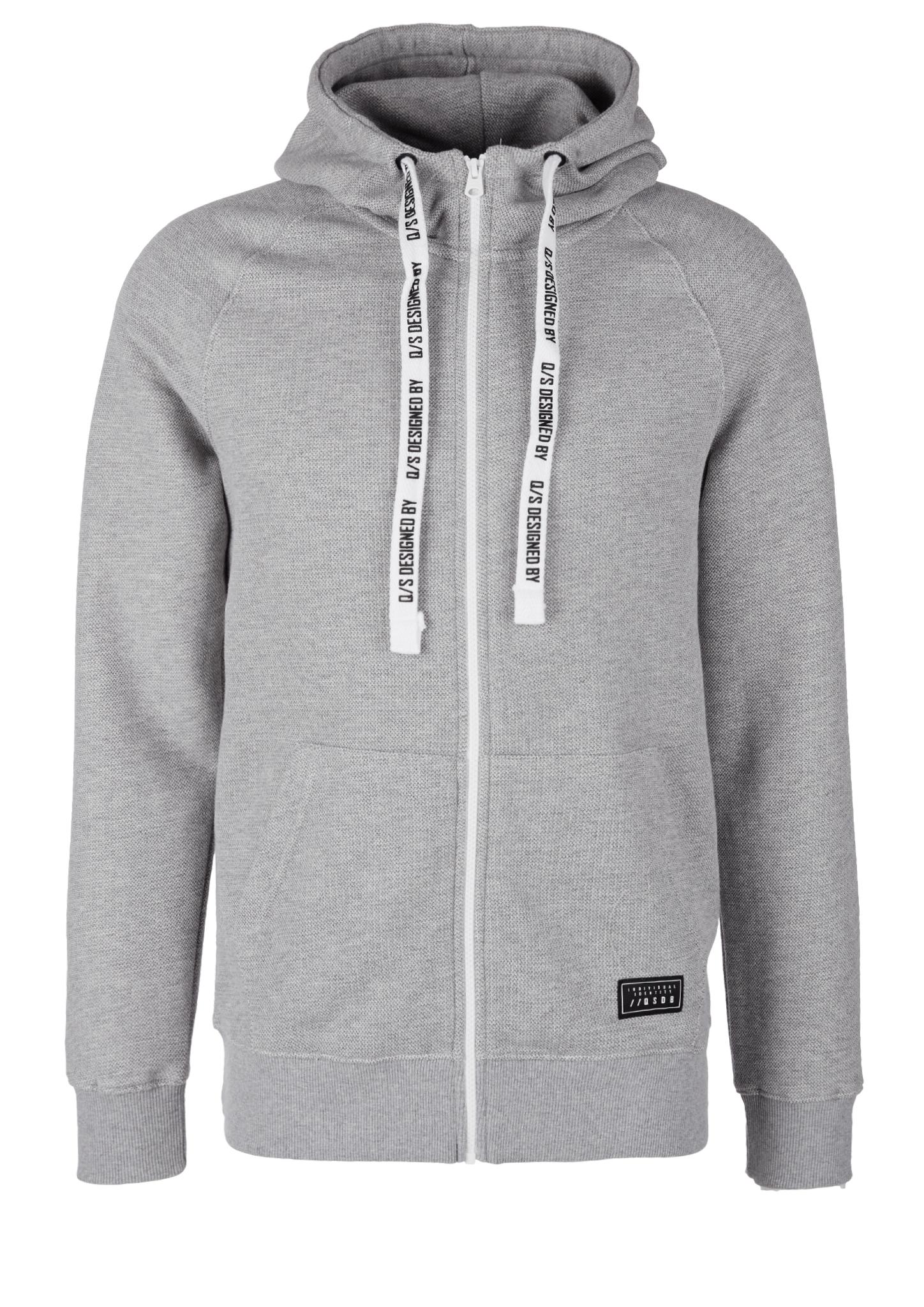 Jacke | Bekleidung > Jacken > Sonstige Jacken | Grau | 94% baumwolle -  6% polyester | Q/S designed by
