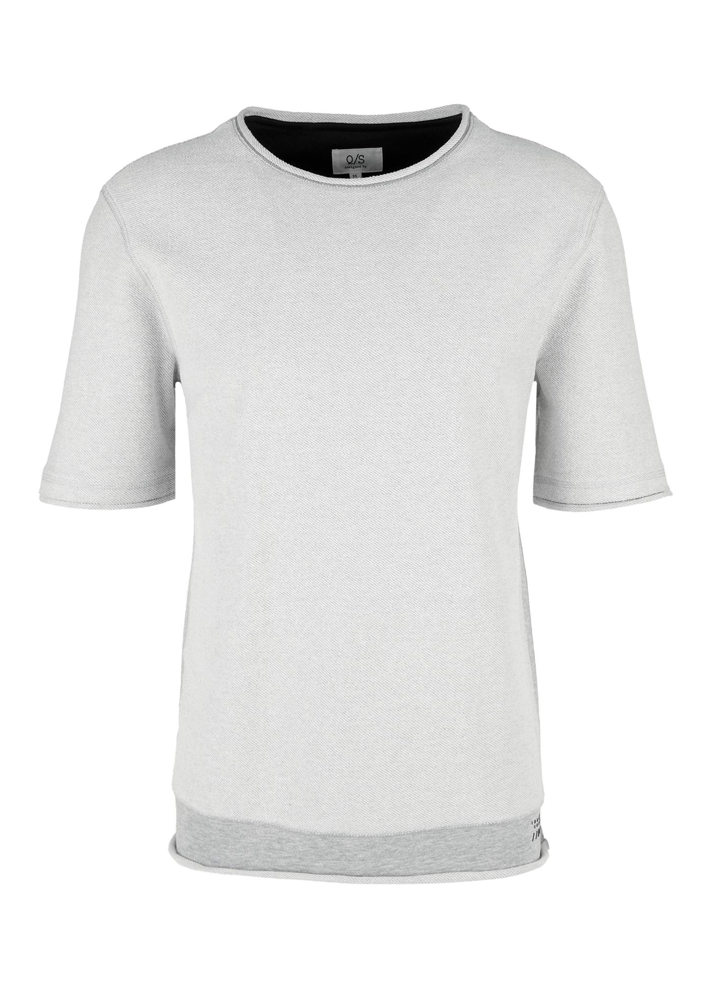 Sweatshirt | Bekleidung > Sweatshirts & -jacken > Sweatshirts | Grau | 90% baumwolle -  10% viskose | Q/S designed by