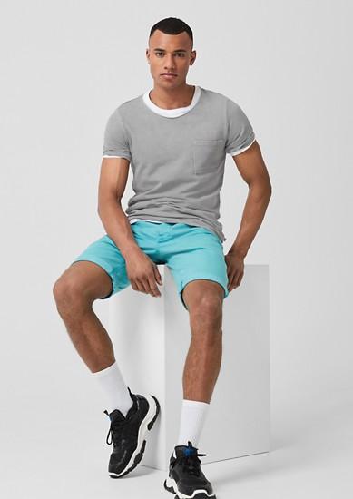 Mesh-Shirt im Used-Look