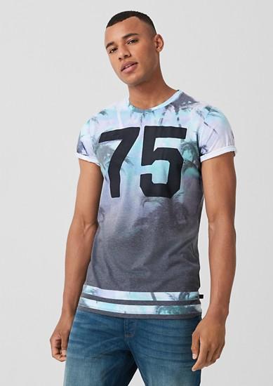 Shirt mit Farbeffekt