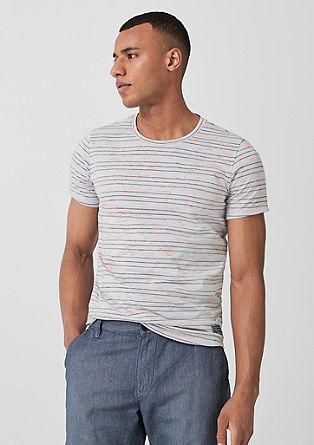 T-Shirt im Streifen-Look