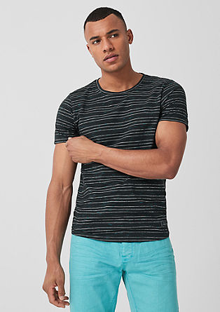 T-shirt in a striped design from s.Oliver