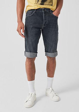Liam Regular: Jeans-Bermuda