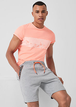 Tracksuit shorts with neon details from s.Oliver