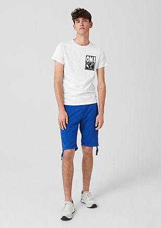 T-Shirt mit Neppy-Effekt