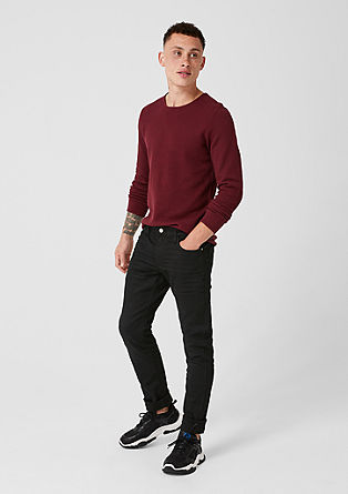 Gavin Skinny: coloured jeans from s.Oliver