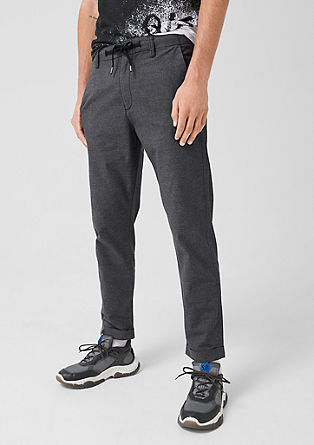 Elroy Slim: woven trousers from s.Oliver