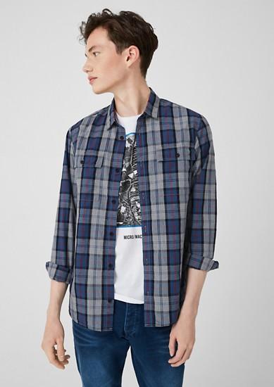 Extra Slim: chemise à carreaux de s.Oliver
