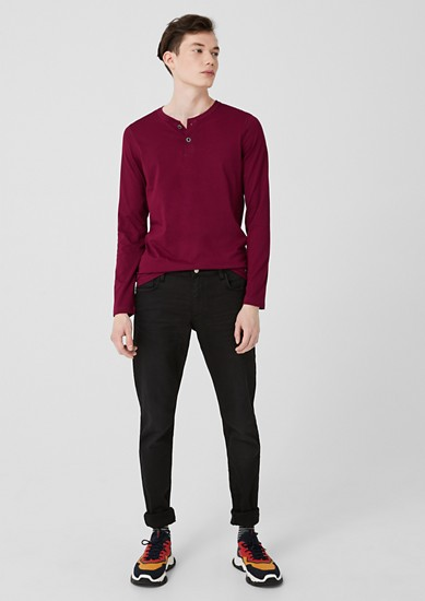 Lightweight Henley top from s.Oliver