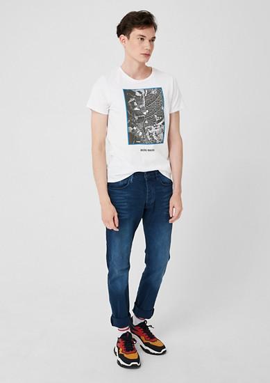 T-shirt à imprimé photo de s.Oliver