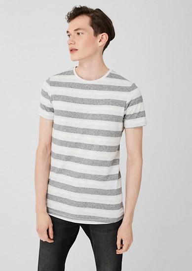 T-shirt à motif tissé de s.Oliver