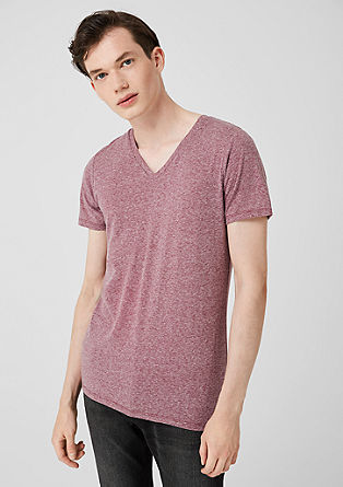 Basic V-neck tee from s.Oliver